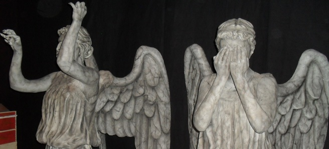 The Weeping Angels at WhoCon
