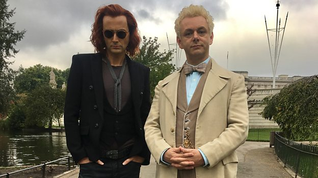 David Tennant and Michael Sheen